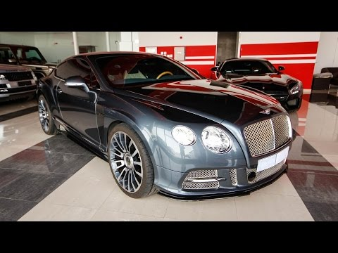 2013 Bentley Continental Gt Mansory Body Kit Youtube