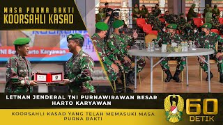 Letjen TNI Purn Besar Harto Karyawan, Koorsahli Kasad yang Telah Memasuki Masa Purna Bakti