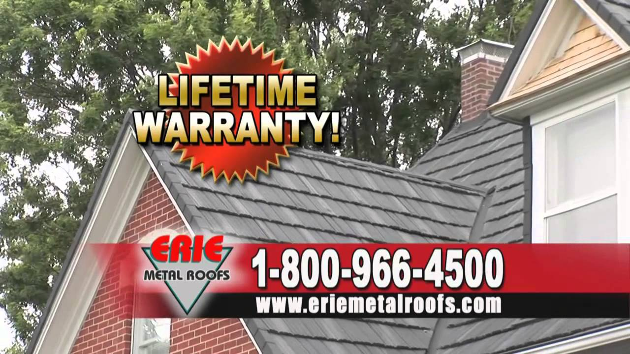 Special Savings! 60% Off Installation! Erie Metal Roofs