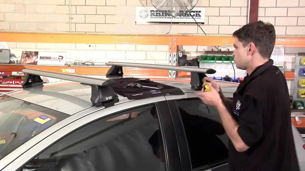 Rhino Rack Aero Roof Racks Video How To Installation Youtube