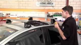 Rhino Rack Aero Roof Racks video how to installation