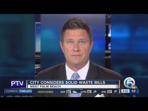 West Palm Beach considers annual solid waste bills instead of monthly
