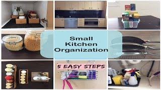 Kitchen Organization | How to Organize Small Kitchen |Indian Kitchen Organization