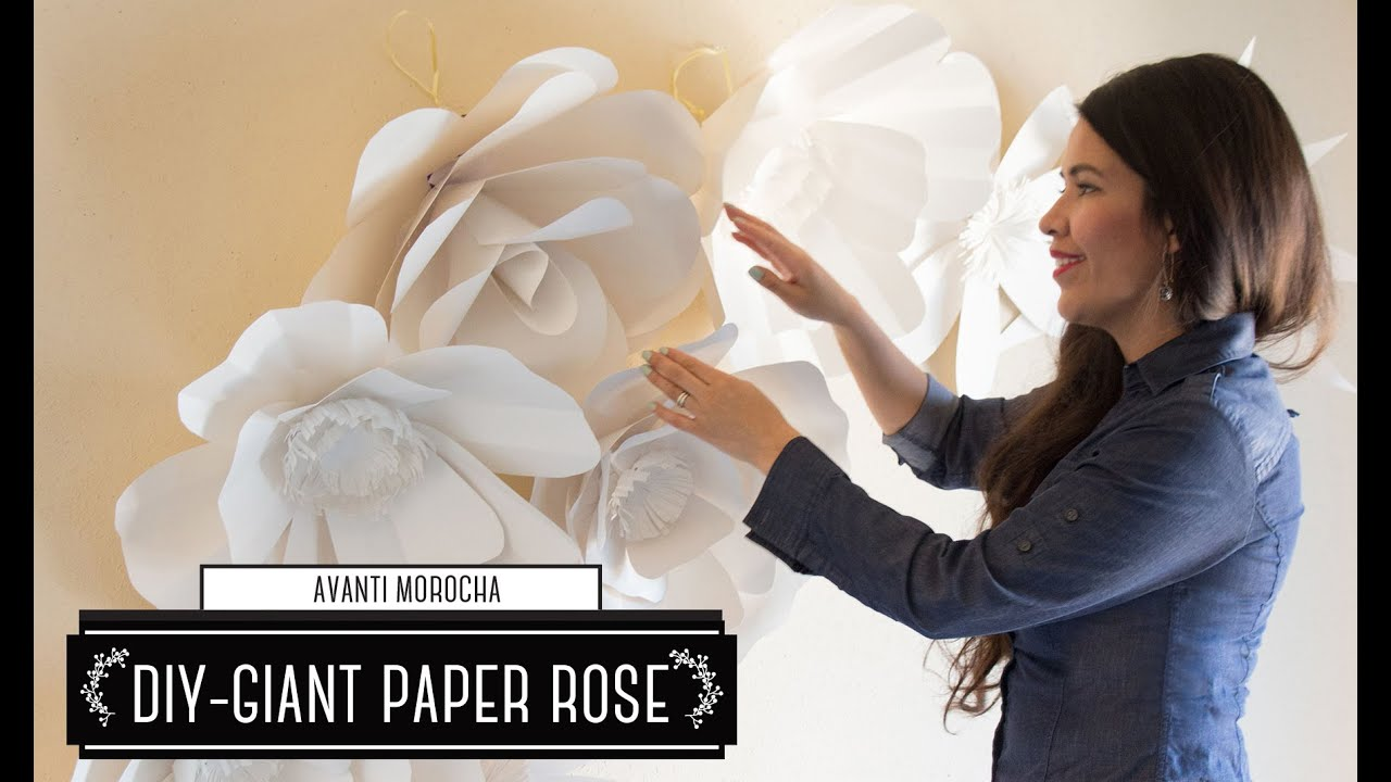 5b77804f5 DIY How to Make a Paper Flower Backdrop