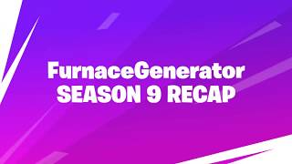 MY FORTNITE SEASON 9 RECAP VIDEO + HOW TO GET (In Description)