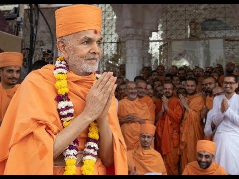 Guruhari Darshan 15 Jul 2018, Sarangpur, India