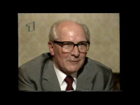 Erich Honecker - ARD-Interview 1991 Moskau (43 Min.)