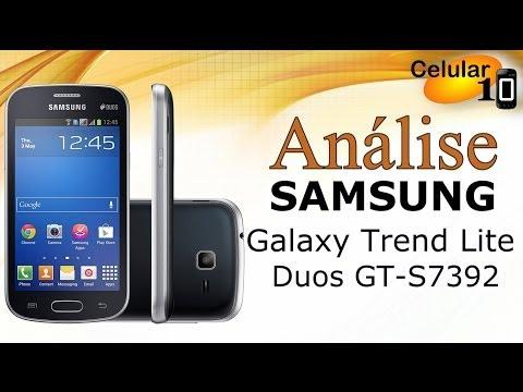 Análise: Samsung Galaxy Trend Lite Duos GT-S7392 ( Celular10 )