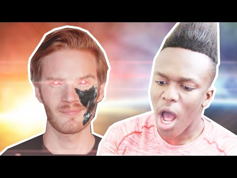 Thumbnail: PEWDIEBOT IS A RACIST.