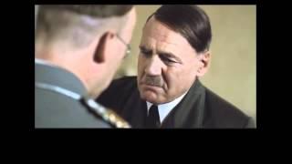Hitler talks to Himmler scene (original German subtitles)
