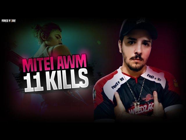 MITEI DE AWM, 11 KILLS RANQUEADA! FT GOD WINS