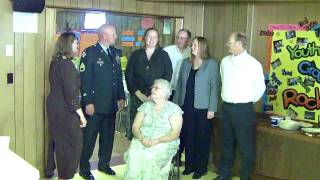 Ernie Steyer Family--after Ernie's funeral service