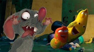 LARVA - SLIPPERY BUGS | Cartoon Movie | Cartoons For Children | Larva Cartoon | LARVA Official
