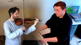 Duo Dialogue – Adagio from Sonata for Violin And Keyboard In B Minor by Bach (COVID-19 Edition)