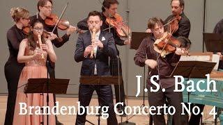 J.S. Bach: Brandenburg Concerto No. 4 / Cappella Gabetta, Maurice Steger, Andrés Gabetta