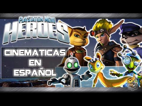 PlayStation Move Heroes - Todas las Escenas HD (Castellano)
