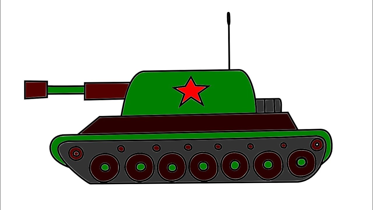 Uncategorized How To Draw Tank how to draw a tank youtube