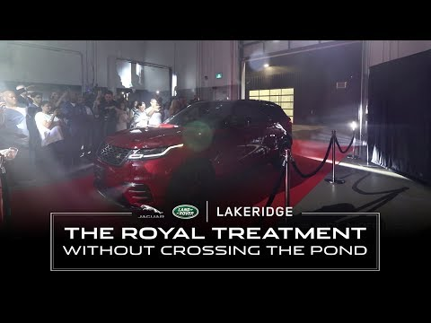 Jaguar Land Rover Lakeridge Grand Opening
