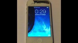 Заміна дисплея, задньої кришки і акумуляторної батареї IPhone 4