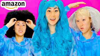 TRYING OUT CRAZY WIGS!