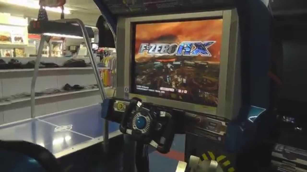 f zero ax arcade review youtube