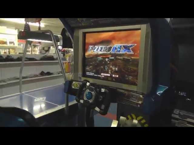F-Zero AX Arcade Review