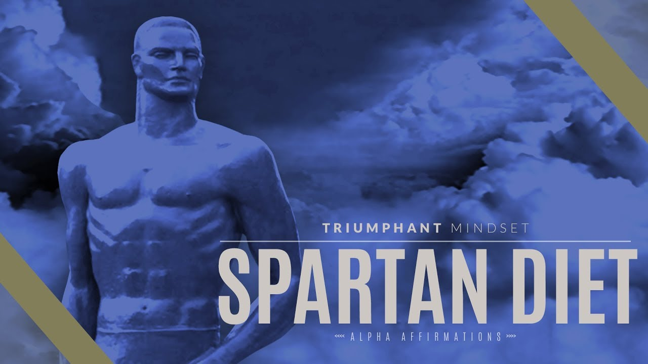 Download Spartan Diet, Spartan Lifestyle Affirmations | Alpha Affirmations