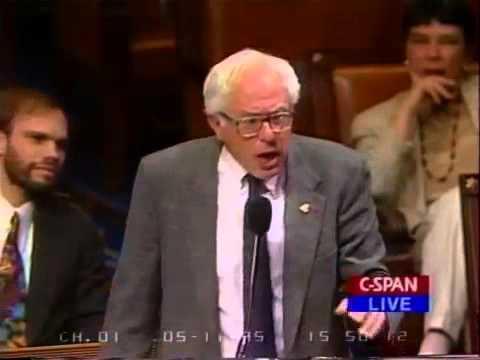 Sanders Defends Gay Soldiers, 1995