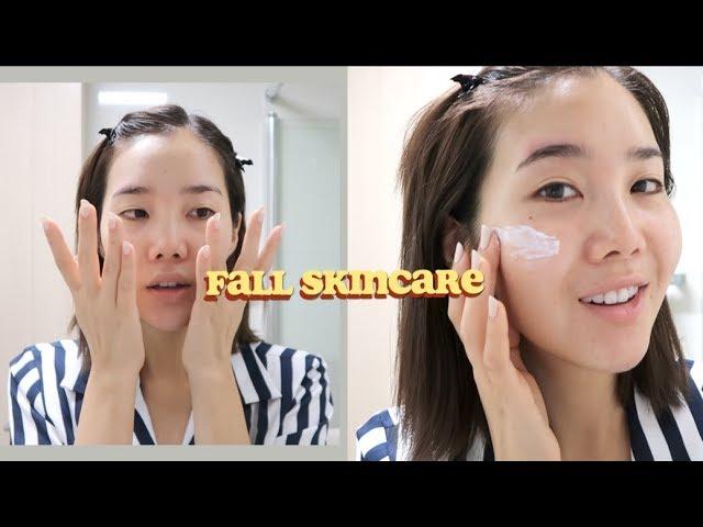 Minimal Morning Skincare Routine | Fall 2018