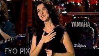 CÉLINE DION Where does my heart beat now Live En public 1990