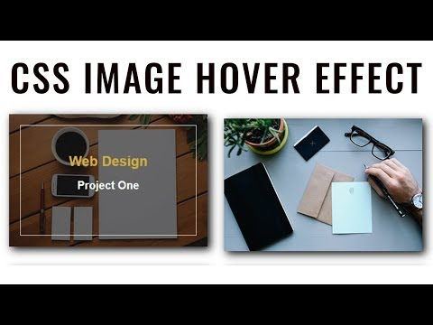CSS Image Hover Effect | Image Hover with Border Animation