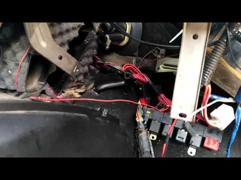 Как снять радиатор печки нива шевроле с кондиционером не снимая панели