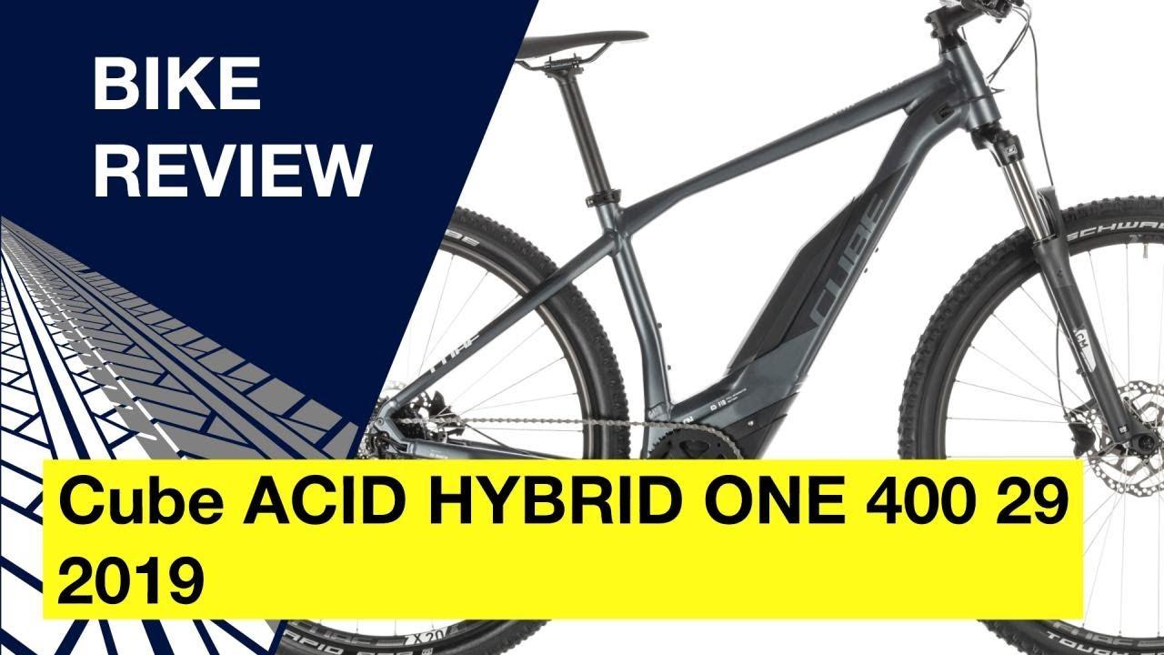 578f257dde6 Cube ACID HYBRID ONE 400 29 2019: Bike review - YouTube