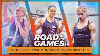 Road to the Games Ep. 18.01: Annie, Sara & Katrin—Nordic Goddesses streaming