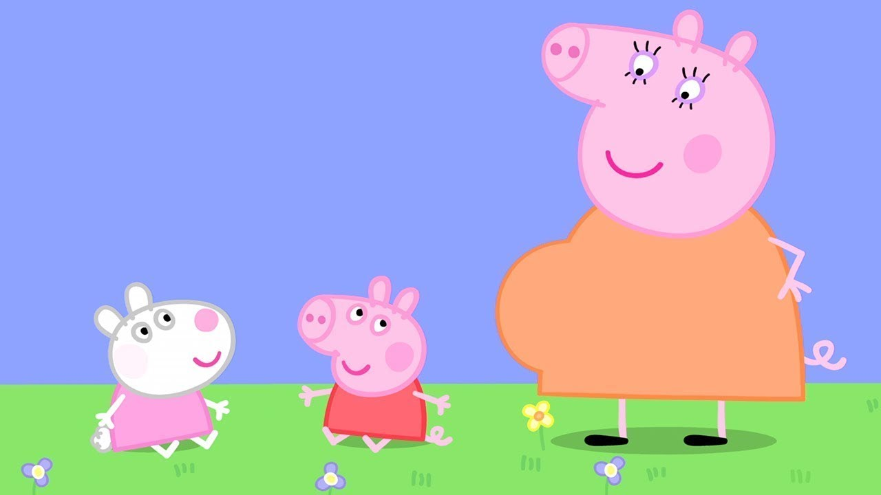 Kids Videos Baby Peppa Pig And Baby Suzy Sheep Peppa