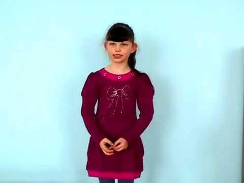Изображение предпросмотра прочтения – СнежанаКурносова читает отрывок изпроизведения «Что такое хорошо и что такое плохо» В.В.Маяковского
