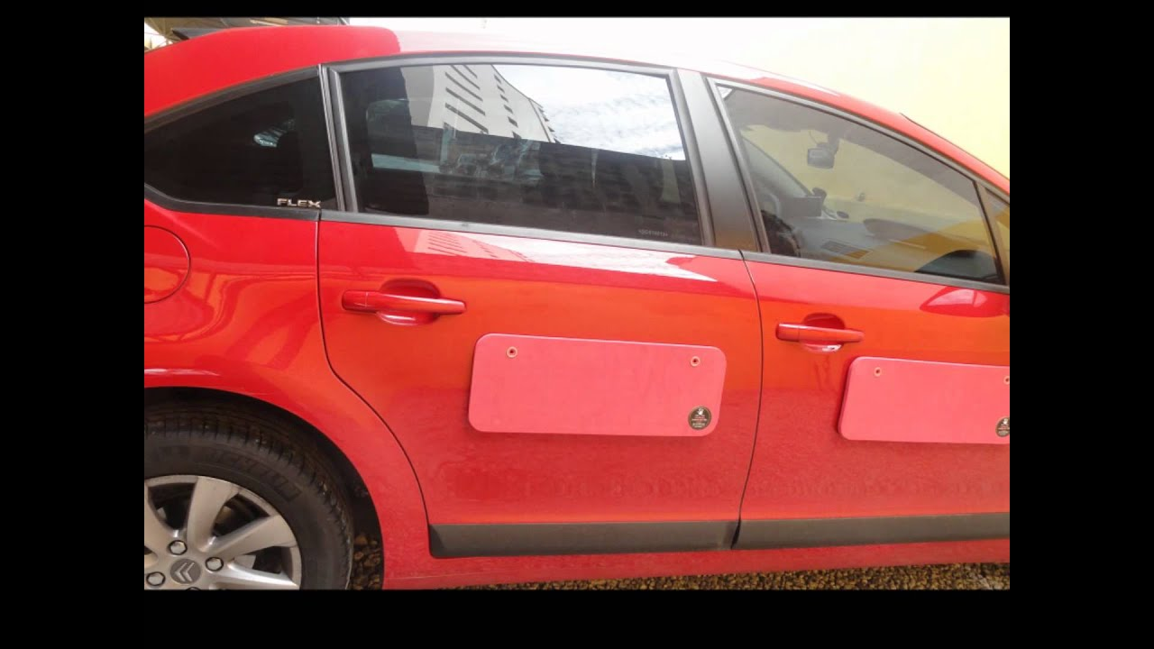 Protetor para porta de carros M&K Proteo - YouTube