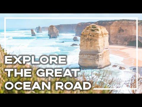 Exploring The Great Ocean Road, Australia (Drone Edit) - Backpacker Banter