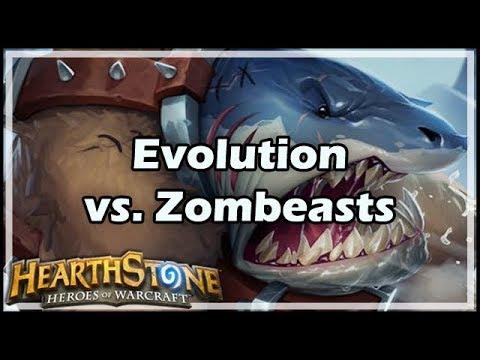 [Hearthstone] Evolution vs Zombeasts