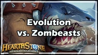 [Hearthstone] Evolution vs Zombeasts