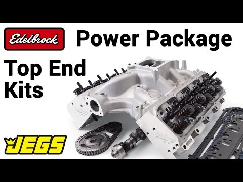 Edelbrock Power Package Top End Kit - YouTube