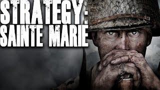 Search Strategy: Sainte Marie (Call of Duty World War 2 - COD WW2)