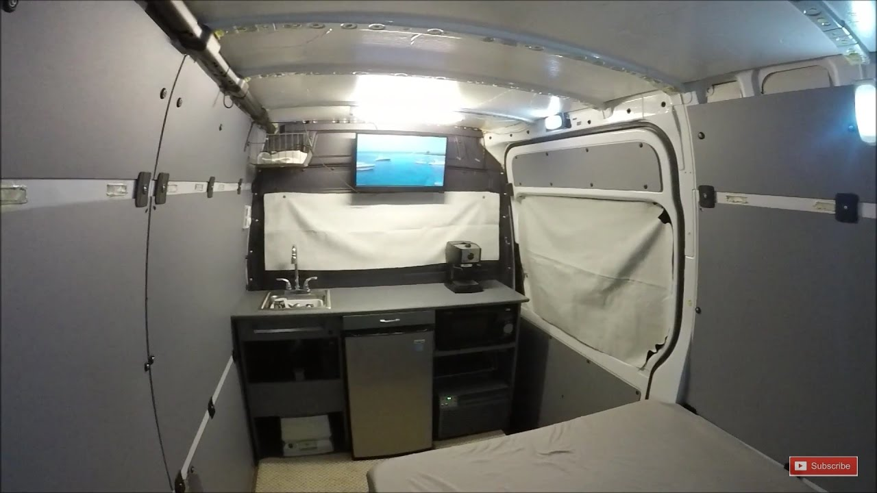 Sprinter Van Privacy Blinds DIY RV Or Camper Conversion