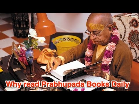 Why read prabhupada books daily