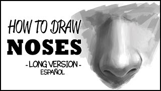 tutorial cmo dibujar una nariz   how to draw noses long version espaol