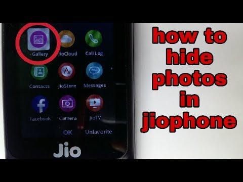 Jio Phone Me Gallery Photo Kaise Lock Kae | How To Hide Photos Videos In Jio Phone