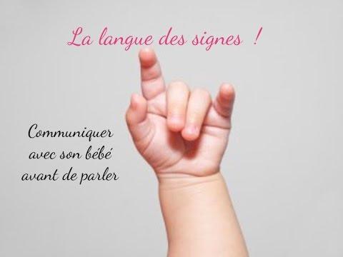 La langue de signes pour les bébés ! - YouTube
