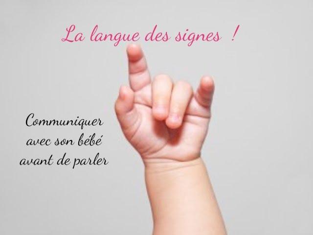 La langue des signes pour les bébés !