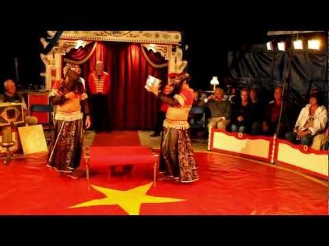 Prominentenvoorstelling in Circus Rigolo 2011