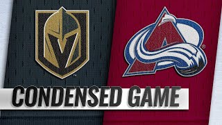 02/18/19 Condensed Game: Golden Knights @ Avalanche
